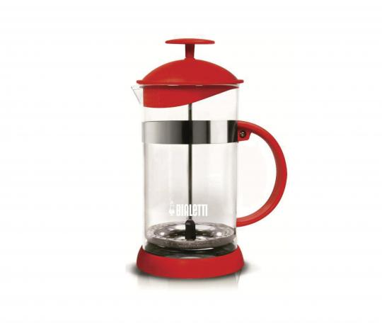 CAFETEIRA FRENCH PRESS 1 L VERMELHA BASIC BIALETTI