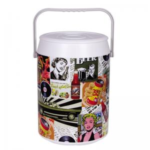 COOLER 42 LATAS ESTAMPA RETRO COLOR ANABELL