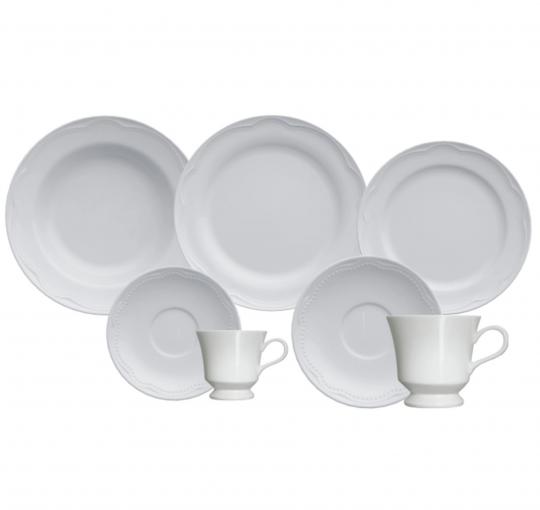 aparelho de jantar/chá e café 42 peças cottage germer