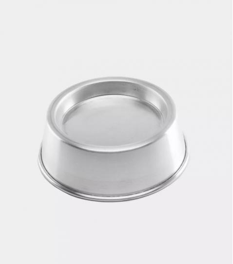 forma para bolo em alumínio ballerine pequena 18,5x4,5cm