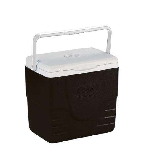 caixa térmica preta 16 qt 15l  invicta