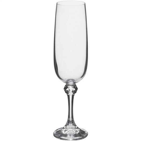 jogo de 6 taças julia para champagne 180ml bohemia