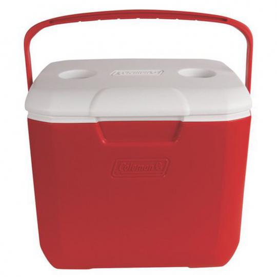 caixa térmica 30 qt 28,3l vermelha 2001 invicta
