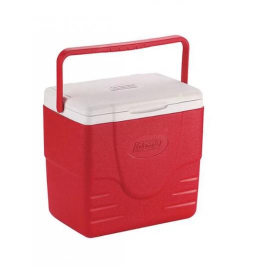 caixa térmica vermelha 16 qt 15l  invicta