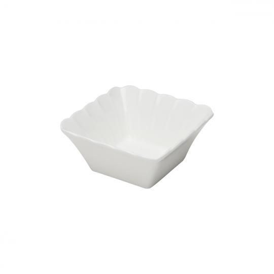 bowl de porcelana quadrado wolff