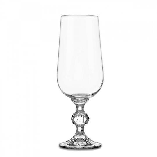 jogo de 6 taças klaudie para champagne bohemia