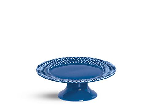 prato de bolo palm beach azul 28cm scalla