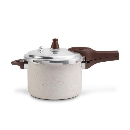 panela de pressão brinox pressure com indução 4,2l vanilla