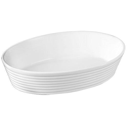 travessa oval porcelana 30,5x22x7  dynasty