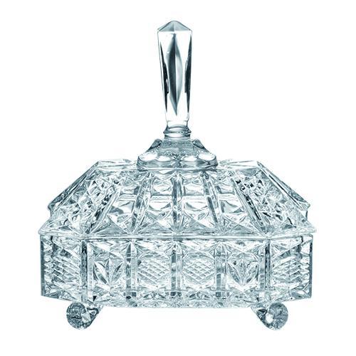 bomboniere em cristal ecologico 21.5cm l'hermitage