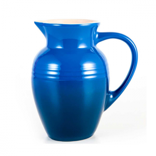 jarra 2 litros azul marseille  le creuset