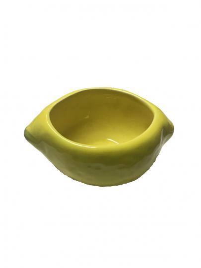jogo com 6 bowls para sobremesa linha limão 350ml scalla