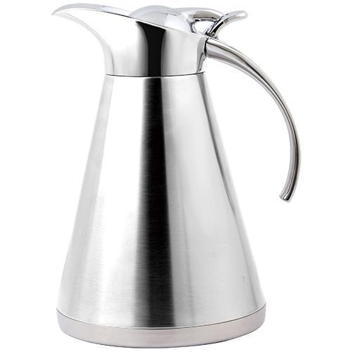 garrafa térmica studio café inox lisa 1l fracalanza