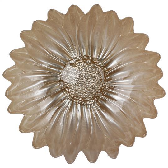 centro de mesa flor perola 17cm lhermitage