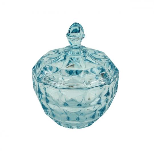 bomboniere aquamarine azul 18x20cm lhermitage