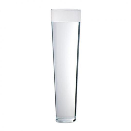 vaso liso transparente luvidarte