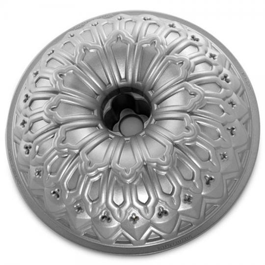 forma para bolo silver stained nordic ware