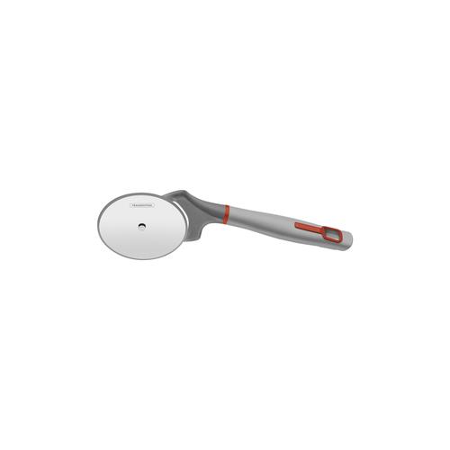 cortador para pizza verano com lâmina de aço inox e cabo de polipropileno cinza tramontina