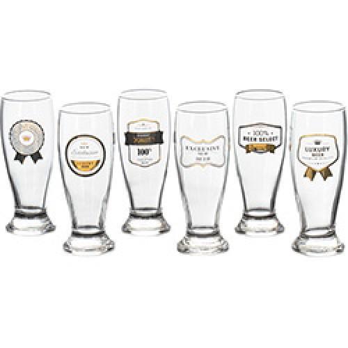 conjunto 06 copos braminha nv premium gold hmartin