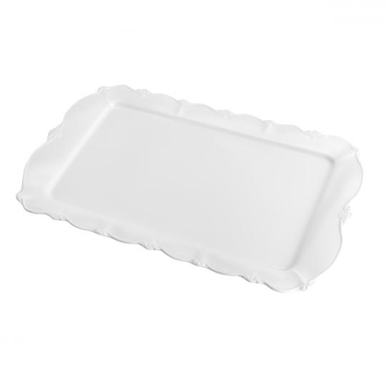 travessa de porcelana fancy 41x26x2,5cm wolff