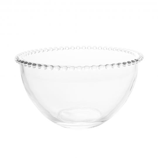 saladeira em cristal pearl 21x12cm wolff