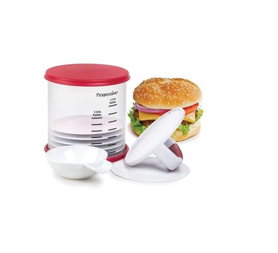 conjunto de 13 pecas para preparar hamburguer progressive