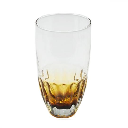 JOGO 6 COPOS LONG DRINK AMBAR 445ml BON GOURMET
