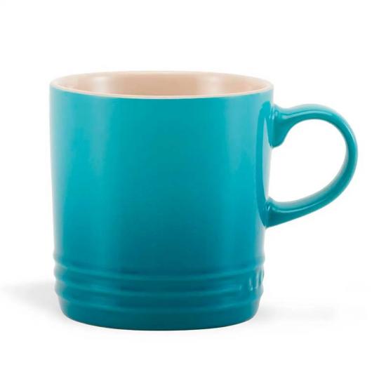 caneca cappuccino azul caribe le creuset