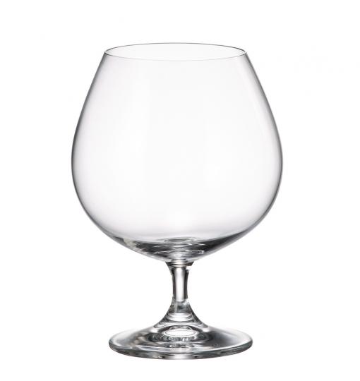 jogo 6 taças cognac gastro colibri 690ml bohemia