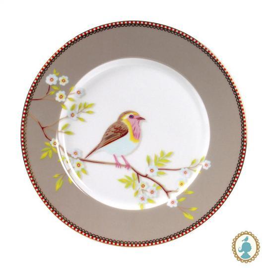 prato sobremesa early bird caqui unitário pip studio
