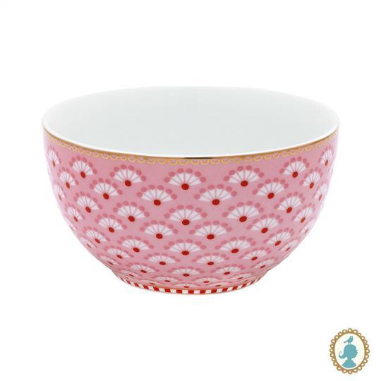 bowl floral bloomingtales rosa 10cm pip studio