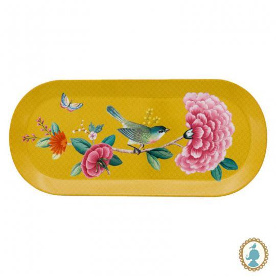 travessa blushing birds amarelo pip studio