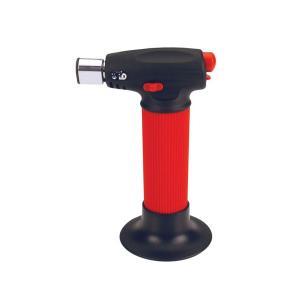 mini maçarico vermelho 15cm ht-900 hotery