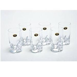 jogo de 6 copos trio agua 230ml bohemia