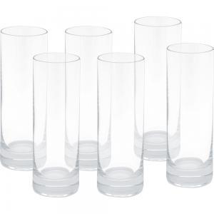 jogo de 6 copos vodka barline liso 50ml bohemia