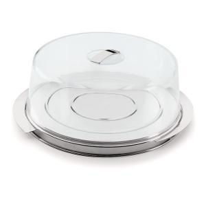 prato para bolo terrazas c/ cúpula 27cm forma