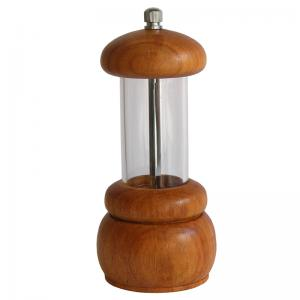 moedor de sal medio acrilico pepper mill
