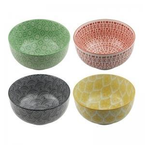 conjunto de bowl 4 peças craw