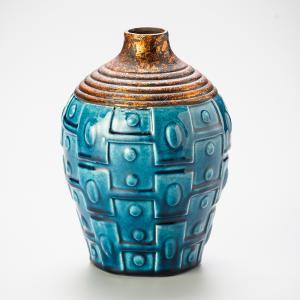 vaso squabby turquesa 30cm