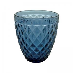 jogo com 6 copos drink azul mimo