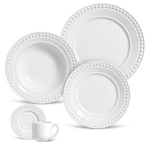 aparelho de jantar 20 peças atenas branco porto brasil