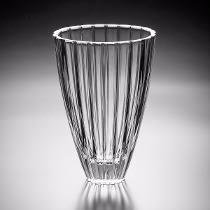 vaso cristal oval wolff 31cm