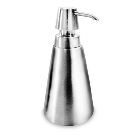 dispenser para sabonete liquido cônica inox kehome