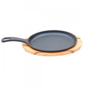 conjunto de tabua e grill de ferro oval tramontina