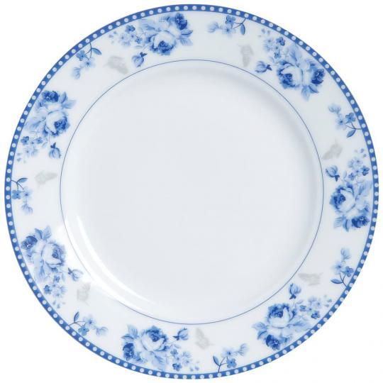 jogo de 4 pratos de sobremesa grécia  azul lyor /,