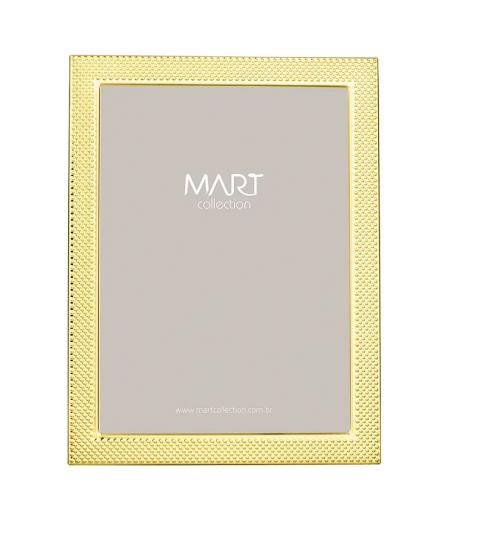porta retrato dourado 10x15 mart