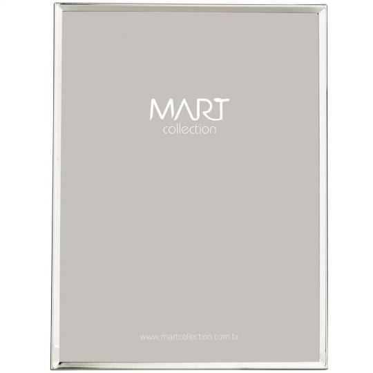 porta retrato prata 20x25cm mart