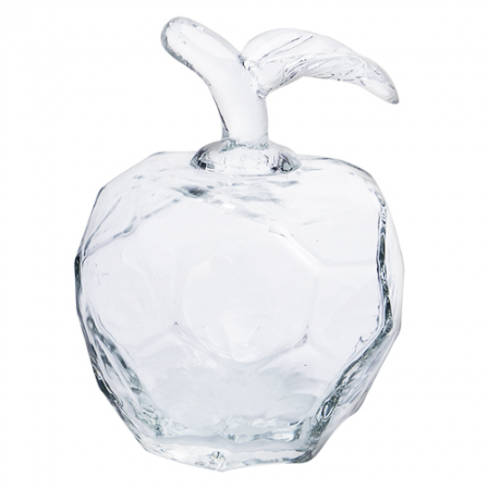 maçã murano vidro 9,5x12,5 l hermitage /+