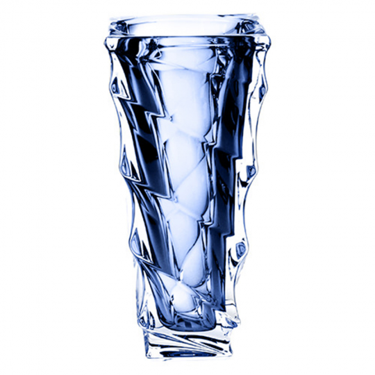 vaso casablanca azul 30cm bohemia