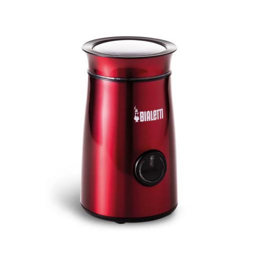 moedor de café eletricity vermelho bialetti
